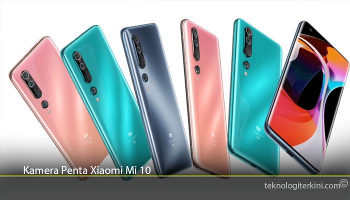 Kamera Penta Xiaomi Mi 10
